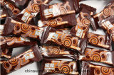 La barra de caramelo automática de chocolate de Kd-350b saltara la empaquetadora de la almohadilla del bolso