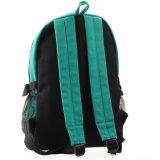 Sac vert de sac à dos d'école d'épaule de sac à dos de loisirs de sac de sac à dos