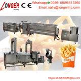 pommes frites congelées industrielles de machines de pommes frites faisant la machine