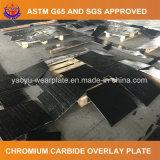 Биметаллическая сваренная плита износа карбида крома