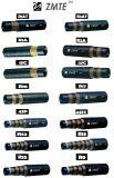 Hochdruckhydraulischer gewundener Schlauch 4sp gummi-en-856