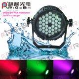 La PARITÀ esterna di PAR36X3w il RGB LED può illuminarsi per l'evento del DJ
