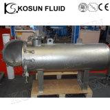 Carcaça de filtro Lenticular sanitária elevada do cartucho da profundidade de fluxo do aço inoxidável (saco)