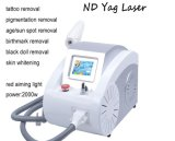 ND do laser do ND YAG do interruptor da remoção Q do tatuagem do laser: Máquina da remoção do tatuagem do laser de YAG