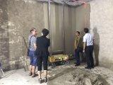 آليّة بناء إسمنت جير جدار أداء آلة يجصّص آلة لأنّ جدار