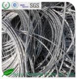Desecho de aluminio 6063 y desecho de aluminio 99.7% del alambre