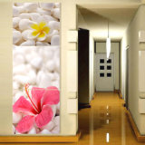 3 Panel-Wand-Kunst-Ölgemälde-Blumen, die Hauptdekoration-Segeltuch anstreichen, druckt Abbildungen für Wohnzimmer gestaltete Kunst Mc-263