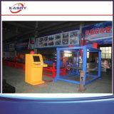 CNC van de Prijs van de vervaardiging de Pijp van het Profiel en h-Straal Scherpe Machine