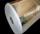 Прокатанная алюминиевой фольгой криогенная бумага изоляции