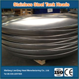 Cabeças elípticas de aço inoxidável de fora, cabeças de tanque de aço inoxidável