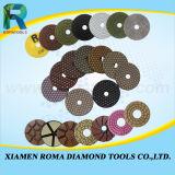 다이아몬드는 화강암, 세라믹 대리석, 돌을%s 톱날을