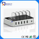 заряжатель стыковки зарядной станции USB 5-Port быстро (LC-CR560)