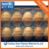 250 ميكرون واضحة [بفك] لف لأنّ يجعل بيضة صينيّة/وعاء صندوق