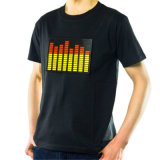 LED d'impression personnalisée EL Light Up Shirts