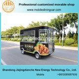 Тележка быстро-приготовленное питания Jiejing восхитительная для продавать
