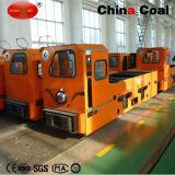 Ccg 5tの地下鉱山のオーバーヘッドライン電気ディーゼル機関車