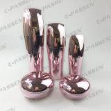 Bottiglia crema acrilica dentellare di lusso della lozione del vaso di nuovo arrivo per l'imballaggio dell'estetica (PPC-NEW-065)