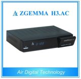 Mexico/Amerika HD SatellietReceiver&Decoder FTA Zgemma H3. AC dvb-S+ATSC Tuners Combo
