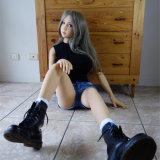 Muñecas verdaderas esqueléticas clasificadas vida del amor de la sensación del metal de la muñeca del sexo del silicón de Sapm40A