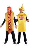 Costumes de chien chaud et moutarde épicée (CPGC7002X)
