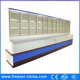 Estilo de la Solo-Temperatura y tipo refrigerador superior del refrigerador de la visualización del congelador de la parte inferior del refrigerador