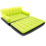 La mejor opción para el ocio Comforatable plegable inflable de PVC o TPU sofá cama doble
