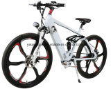 26 بوصة جبل كهربائيّة درّاجة درّاجة مع يضمن مادّة مغنسيوم سبيكة عجلة