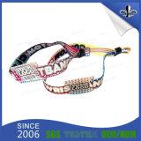 Wristband del tessuto tessuto festival su ordinazione professionale di forma fisica del campione libero