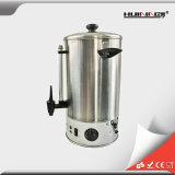 Urn de café quente elétrico do aço inoxidável da tira 9L para o uso comercial
