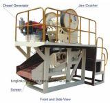 Het mini Draagbare Drijven van de Dieselmotor van de Installatie van de Stenen Maalmachine