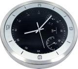 Reloj de pared del negro de la venta al por mayor de la fábrica de China para el regalo promocional