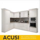 卸し売りアメリカ人L様式の純木の食器棚(ACS2-W13)