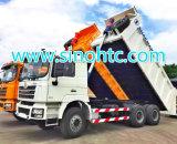 Shacman 6X4 340HP 5.8m 광산 사용 팁 주는 사람 트럭