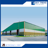 빠른 건축 지붕 샌드위치 위원회 니스 디자인 강철 구조물 농업 격납고