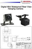 CCD/CMOS車のビデオ背面図のカメラ