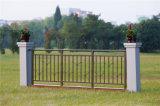 Balcón de acero galvanizado decorativo de alta calidad 8 que cercan con barandilla de la aleación de Haohan Alluminum
