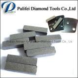 젖은 정연한 모양은 단단한 Terrazzon 구체적인 돌 Foor를 위한 사용한 다이아몬드 지면 가는 세그먼트를 말린다