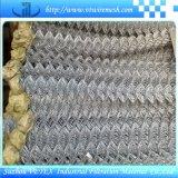 Vetex a galvanisé la maille de maillon de chaîne de compensation de fil
