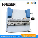 Máquina de doblado de metal de la placa hidráulica del CNC, máquina plegable