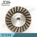 Roda de moedura do copo do diamante contínuo durável para o granito
