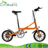 Aluminiumlegierung-Rahmen-Schwarz-Miniart faltendes E-Fahrrad