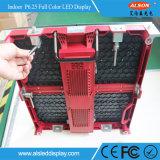 Sinal interno cheio do diodo emissor de luz do arrendamento da cor P6.25 de SMD