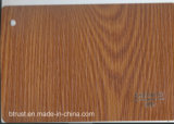 De houten Film/de Folie van pvc van de Korrel Decoratieve voor de VacuümPers Bgl084-089 van het Membraan Cabinet/Door