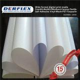 Venta caliente blanca impresión digital Vinilo material revestido Frontlit bandera de la flexión para la venta al por mayor