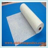 Glace de fibre coupée par poudre transparente de couvre-tapis du brin 300GSM