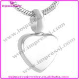 De Halsband van de Charme van het Hart van de Urn van de Herinnering van de As van de Tegenhanger van het roestvrij staal (IJA008)