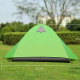 Barraca profissional Windproof Rainproof de caminhada de acampamento ao ar livre de 2 pessoas