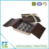 ディバイダが付いている板紙箱チョコレートをカスタム設計しなさい