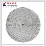 Roda de lustro branca de pano de algodão