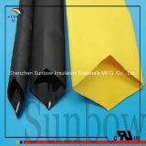 Tubazione resistente doppia nera dello Shrink di calore della poliolefina dell'umidità della parete